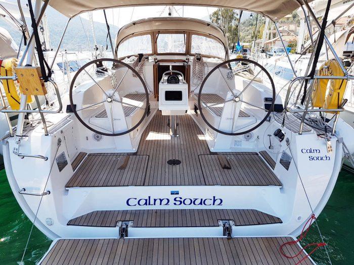 Bavaria 41 Calm Souch Sail Ionian