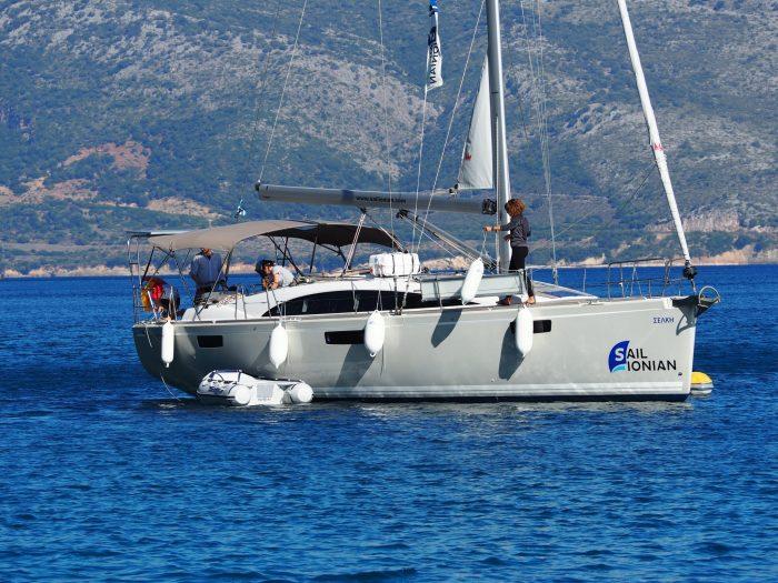 Bavaria Vision 42 Selkie Sail Ionian