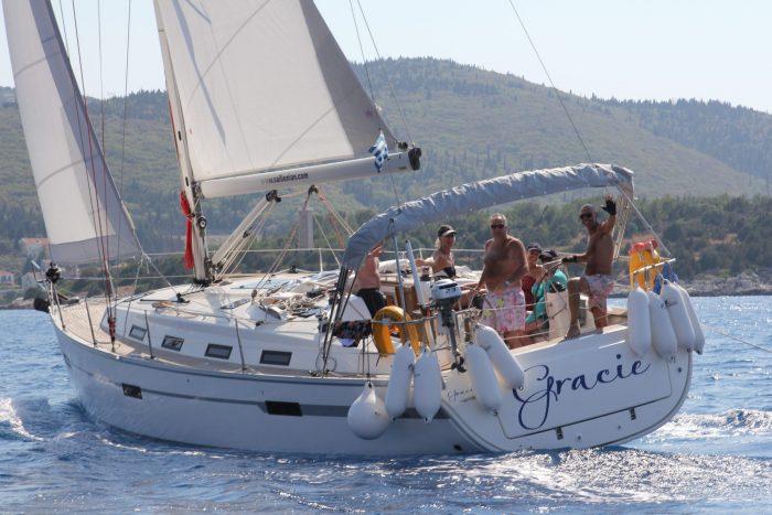 bareboat charter greece