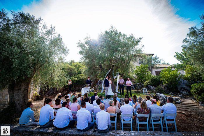sail ionian wedding