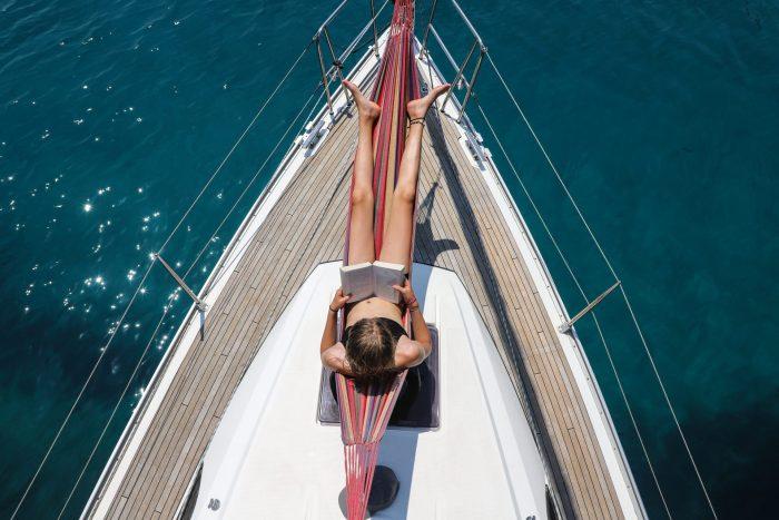 Health benefits sailing holiday